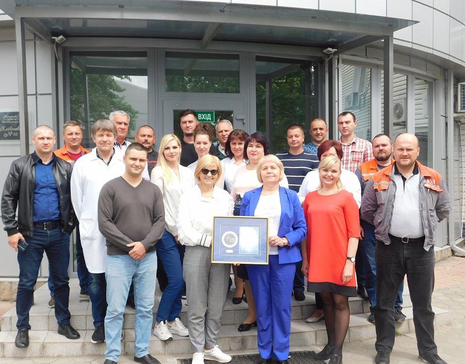 «Хлібозавод №10» отримав нагороду Національного бізнес-рейтингу «Лідер року»